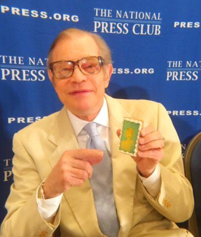 Michael York Spreads Amyloidosis Awareness at NPC